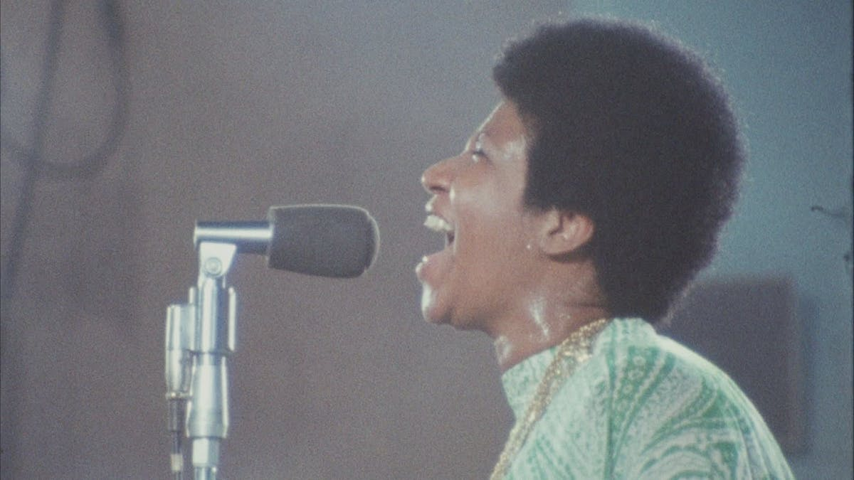 Aretha Franklin i Amazing Grace