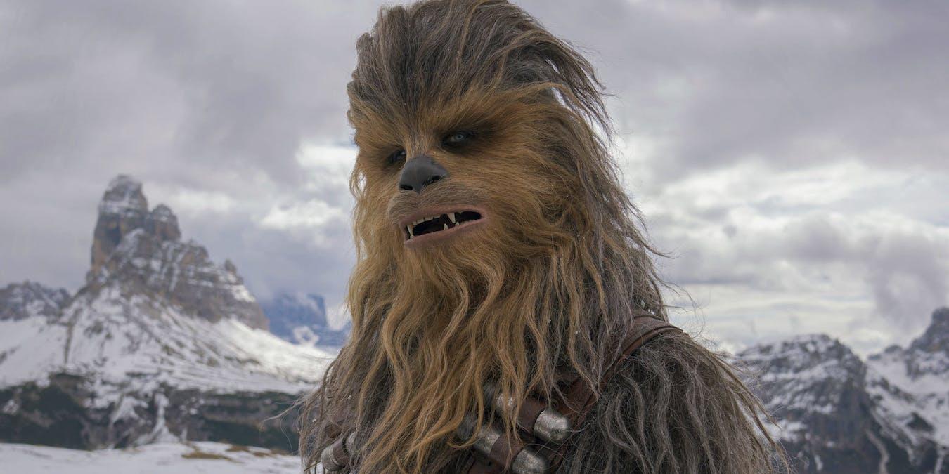 Chewbaccas bästa ögonblick