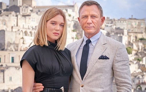"Fler bilder till James Bond ""No Time to Die"""