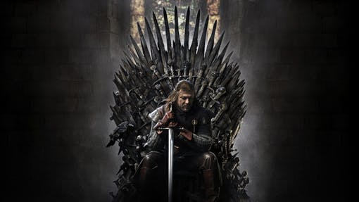 Game of Thrones den mest nerladdade serien 2019.
