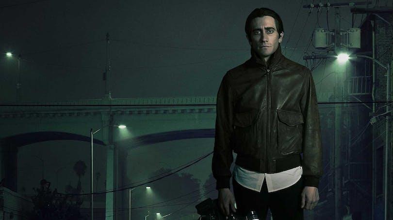 Jake Gyllenhaal i Nightcrawler.