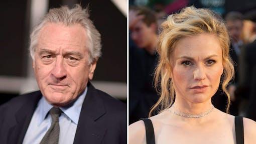 De Niro viftar bort kritiken mot Anna Paquins roll i Irishman