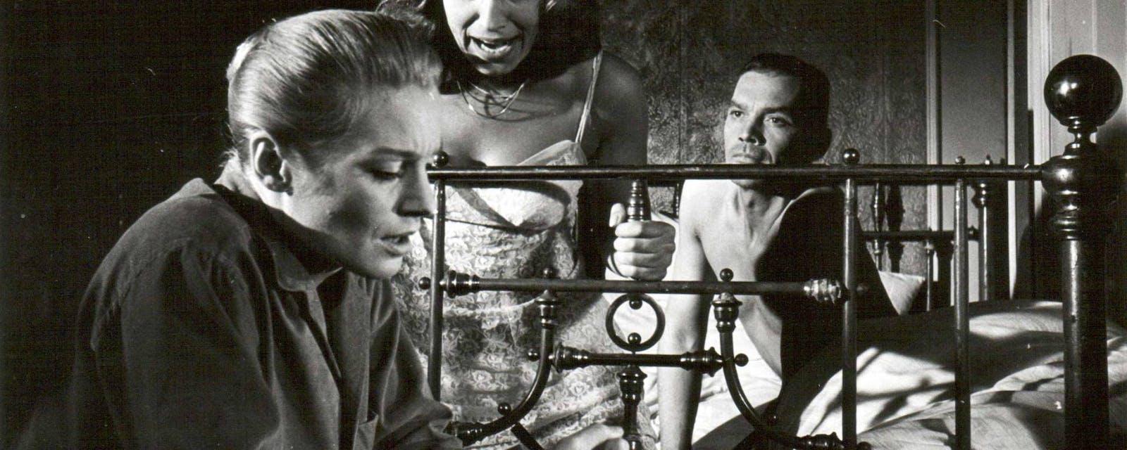 Stillbild ur Ingmar Bergmans Tystnaden.