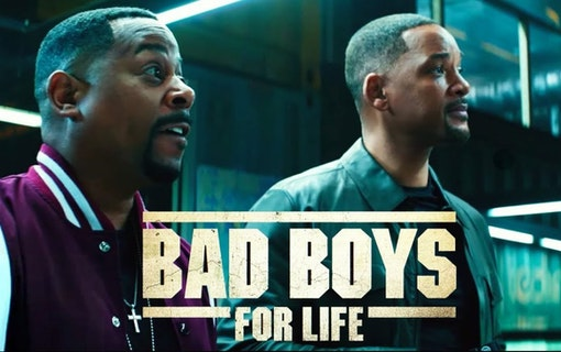 Affisch till Bad Boys For Life med Will Smith och Martin Lawrence. Foto: Sony Pictures Releasing.