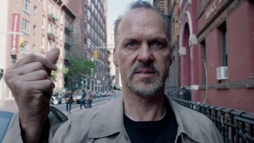 Michael Keaton i Birdman. Foto: Fox Searchlight Pictur6es.