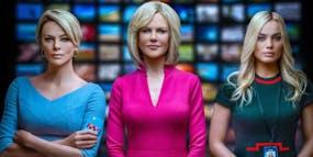 Charlize Theron, Nicole Kidman och Margot Robbie i Bombshell.