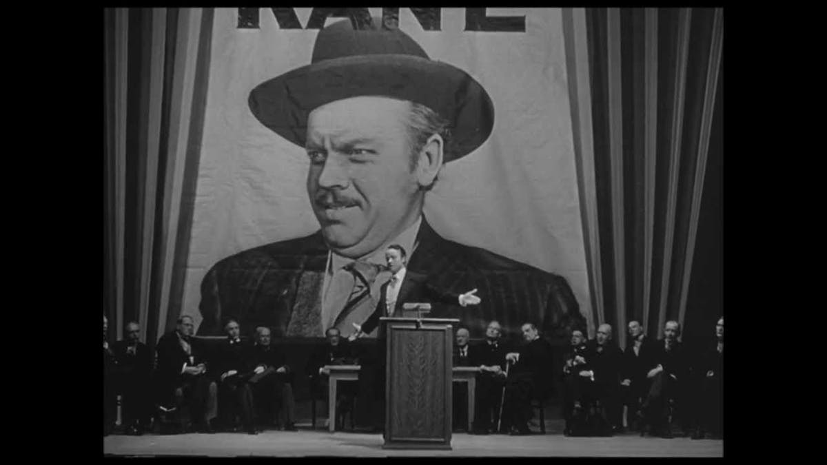 Orson Welles filmer