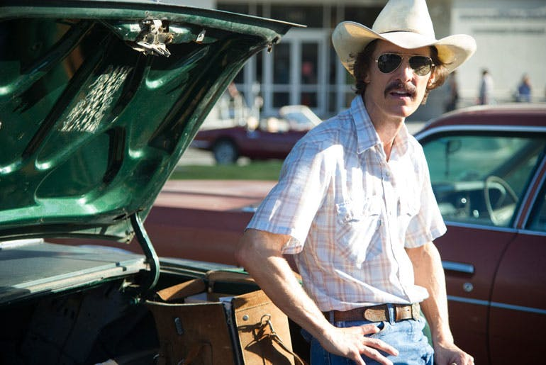 Matthew McConaughey i Dallas Buyers Club.