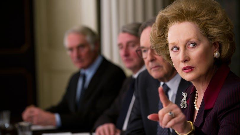 Meryl Streep som Margaret Thatcher i Järnladyn. Foto: 20th Century Fox.