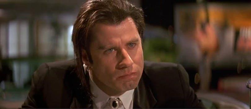 John Travolta i Pulp Fiction