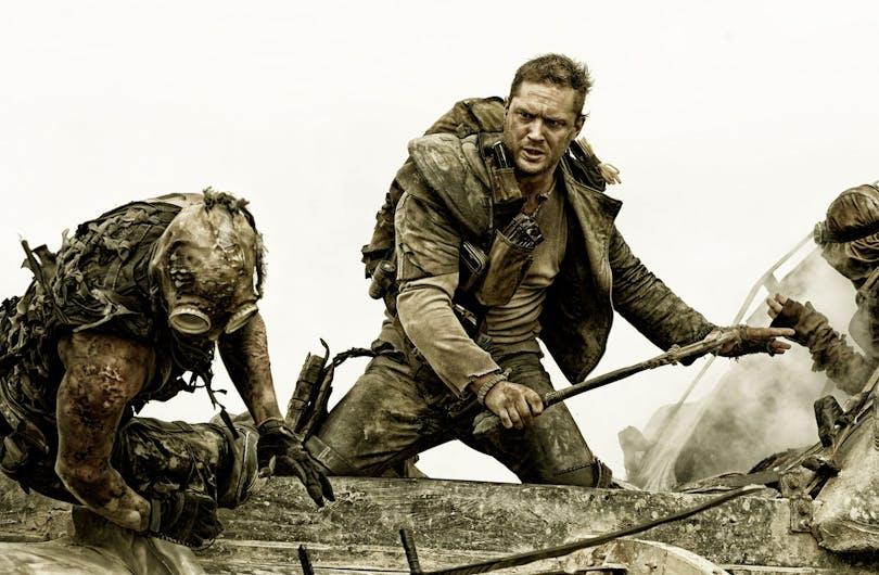 Tom Hardy som Mad Max.