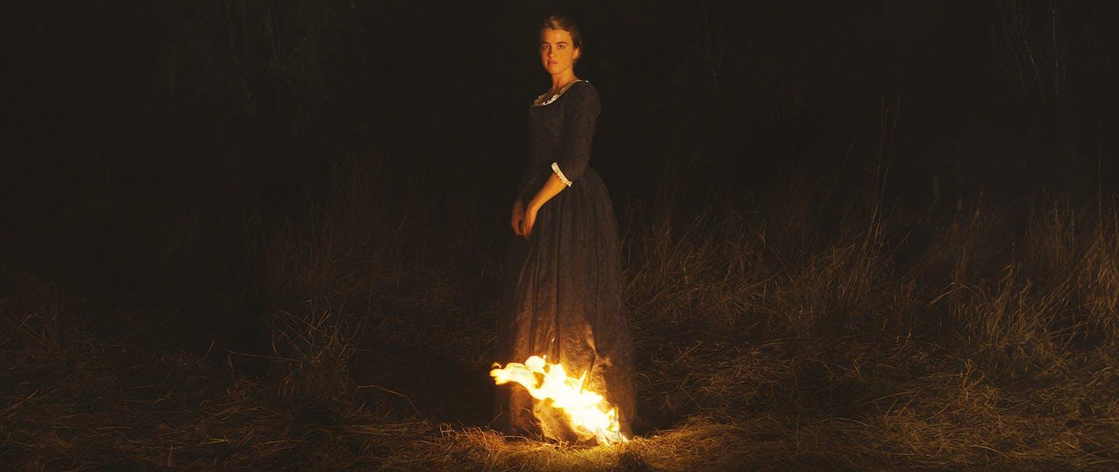 Porträtt av en kvinna i brand (2019)