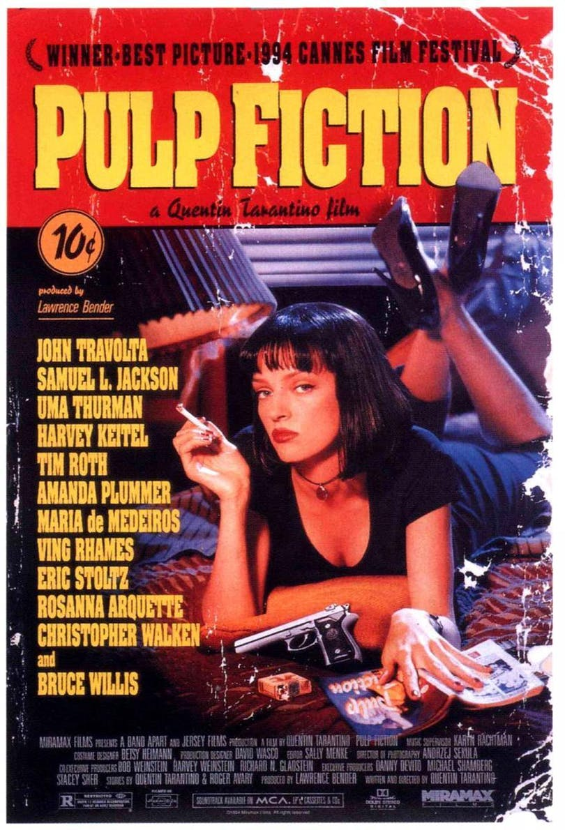 Pulp Fiction-poster