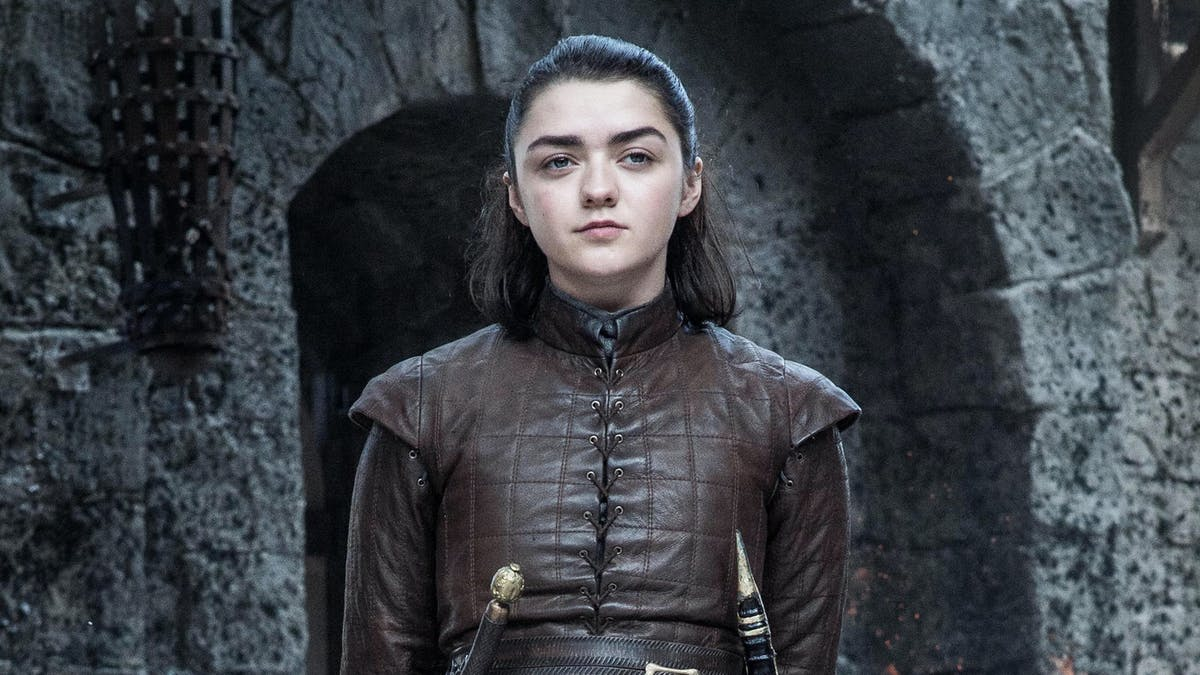 Maisie Williams som Arya Stark