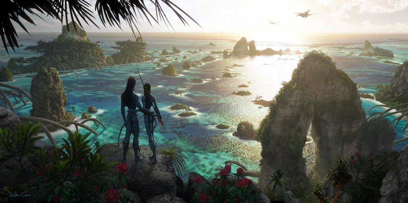 Konceptbilder från Avatar 2 har släppts