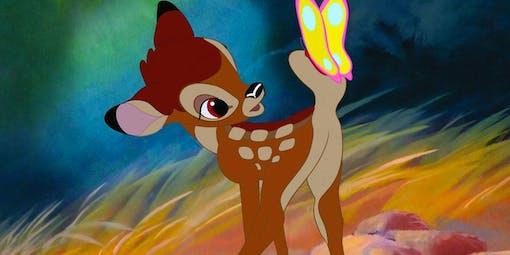 Disney gör otecknad Bambi