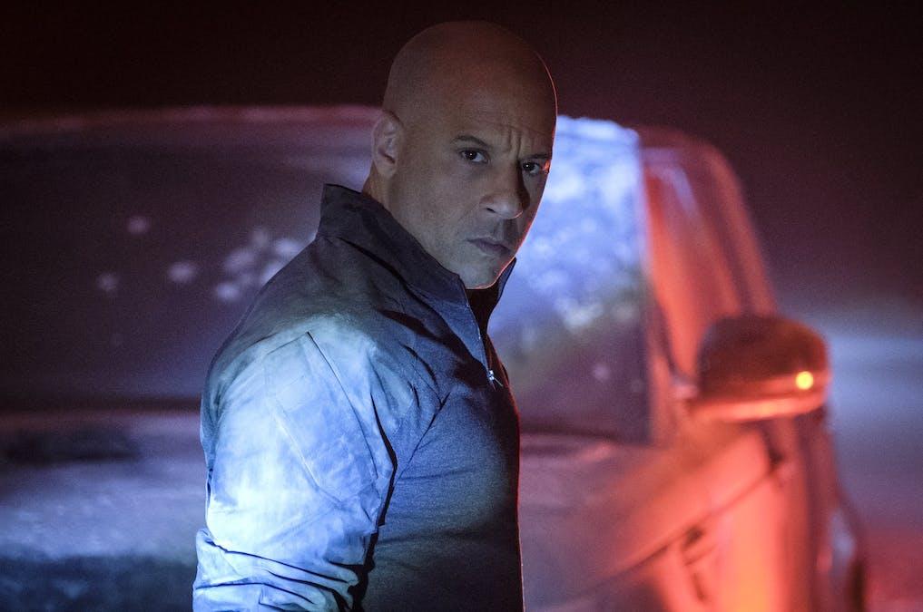 Se Vin Diesel skapa kaos i ny trailer till Bloodshot