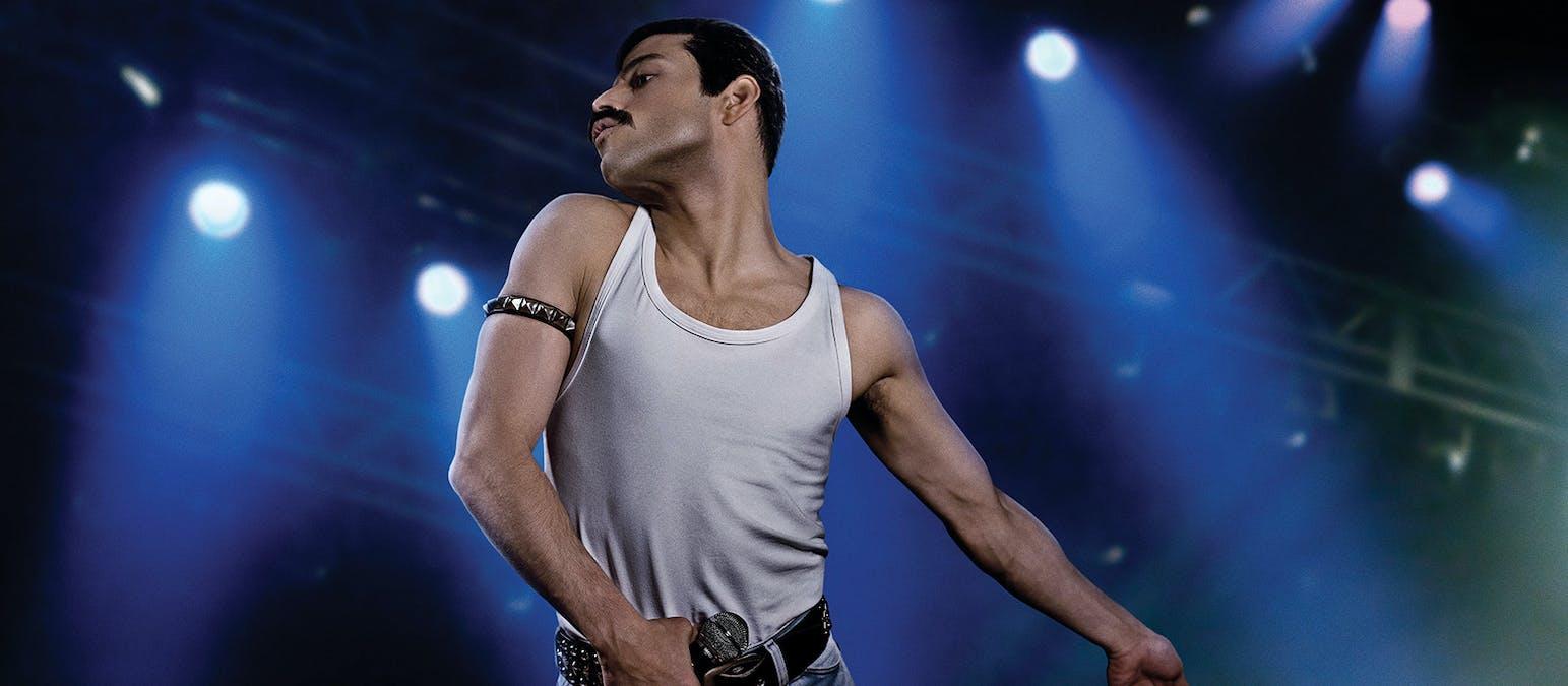 Rami Malek som Freddie Mercury i Bohemian Rhapsody