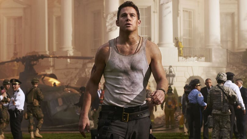 "Channing Tatum i ""White House Down""."
