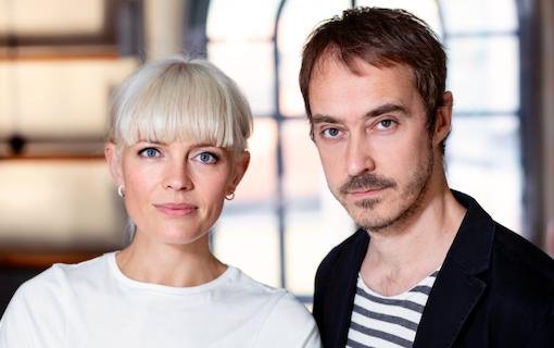 Josephine Bornebusch och Jonas Karlsson med romantiskt musikdrama för Viaplay