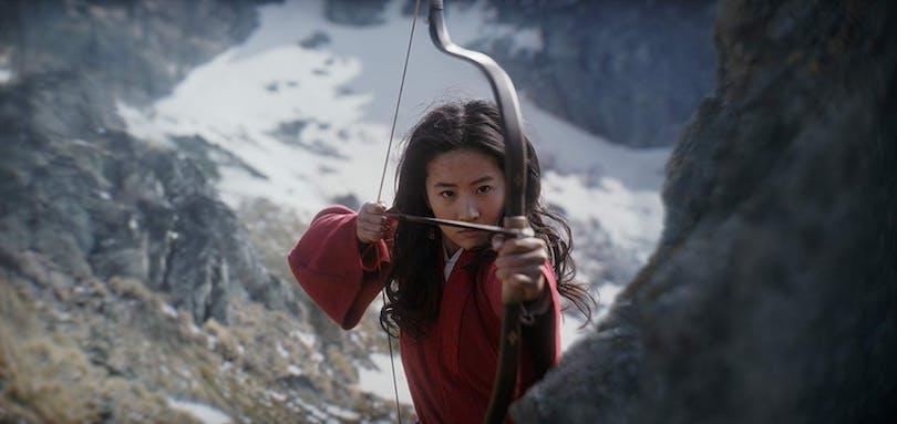 """Stillbild ur """"Mulan""""."""