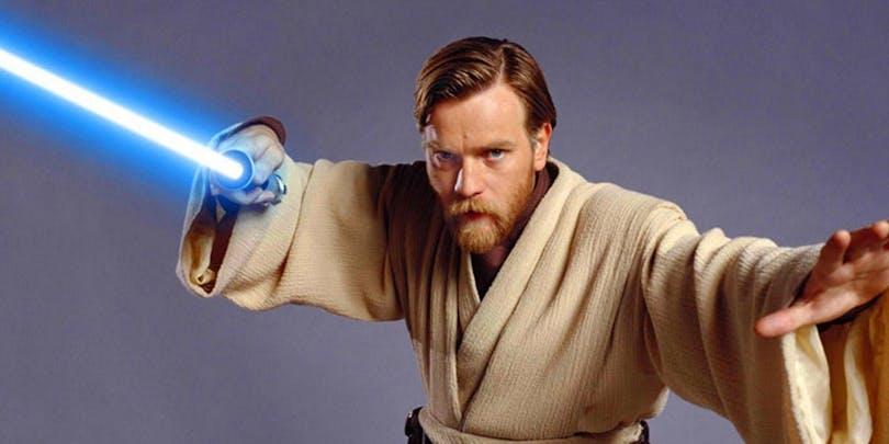 Ewan McGregor som Obi-Wan Kenobi.