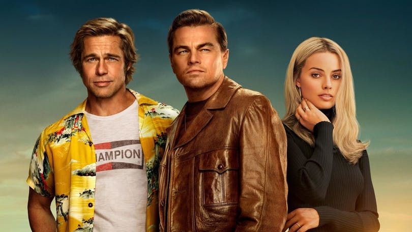 "Poster till ""Once Upon a Time in Hollywood""."