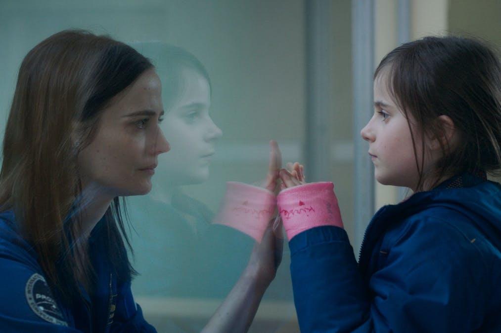 Eva Green och Zélie Boulant i filmen ''Proxima'' (2019).