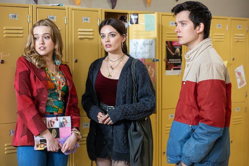 Bland de bästa serierna 2021 förväntas vi se Sex Education säsong 3.