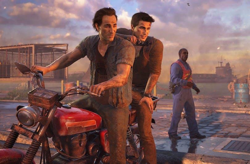 """Bild ur spelet """"Uncharted""""."""