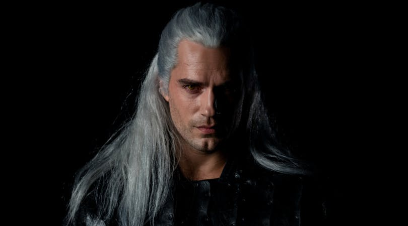 "Geralt of Rivia i ""The Witcher""."