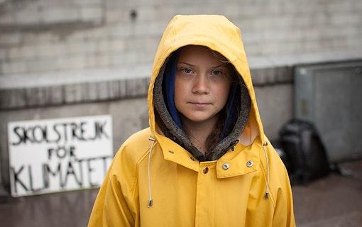 Greta Thunberg. Foto: Anders Hellberg.