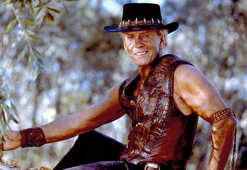 Paul Hogan som Crocidle Dundee.