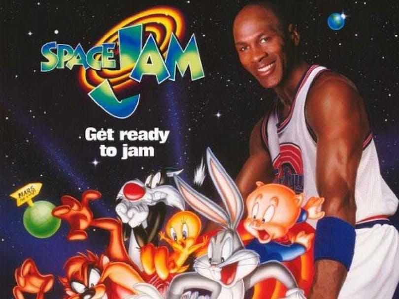 Space Jam. Michael Jordan med Looney Toons