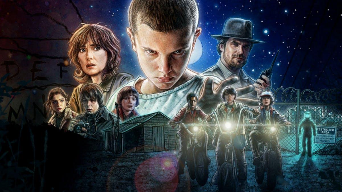 De mest sedda serierna på Netflix 2017