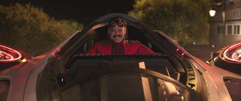 Jim Carrey som Dr. Robotnik.