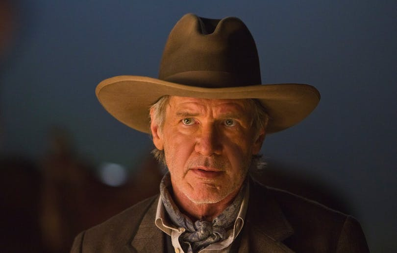 "Harrison Ford i ""Cowboys vs. Aliens""."