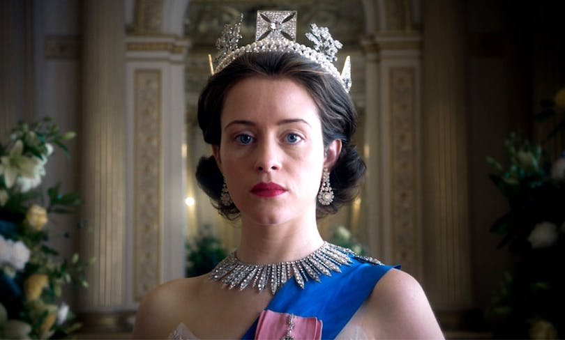 """Claire Foy i """"The Crown""""."""