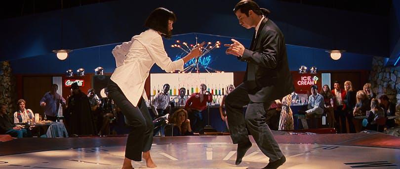 Dansscen från Pulp Fiction.