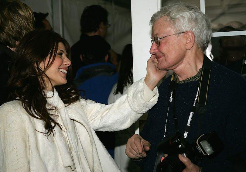 Marisa Tomei och Roger Ebert