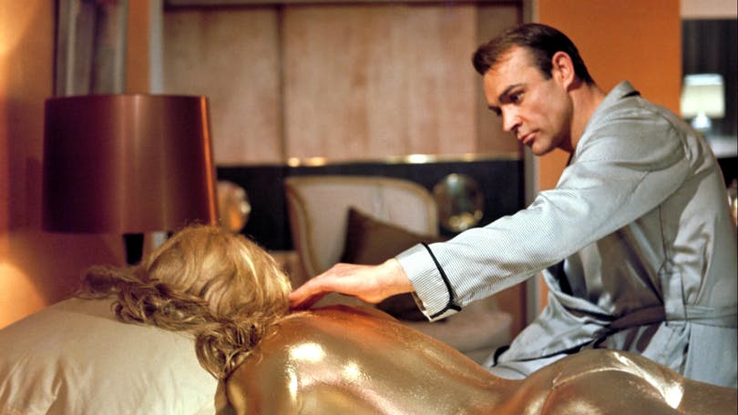 "Sean Connery i ""Goldfinger""."