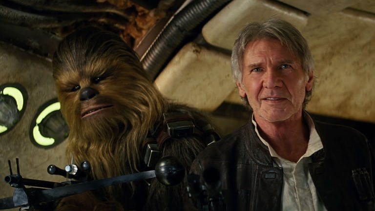 "Han Solo i ""The Force Awakens""."