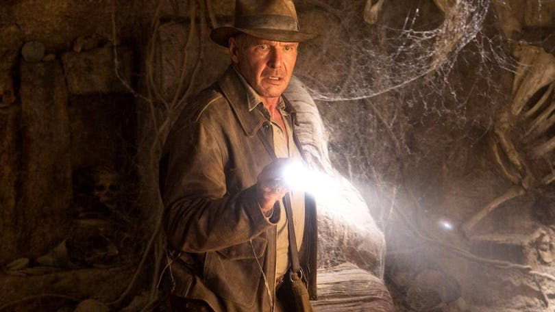 "Harrison Ford i ""Indiana Jones 4""."