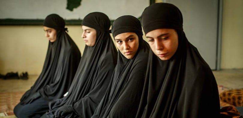 Stillbild ur SVT:s nya succé. Får vi se Kalifat säsong 2?