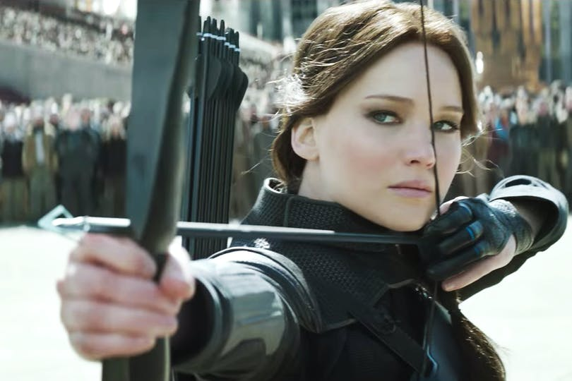 Jennifer Lawrence i Hunger Games