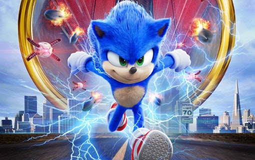 ''Sonic the Hedgehog'' (2020).