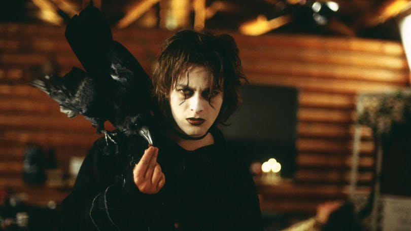 "Edward Furlong i ""The Crow: Wicked Prayer""."