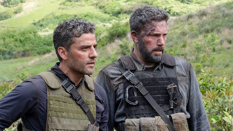Oscar Isaac och Ben Affleck