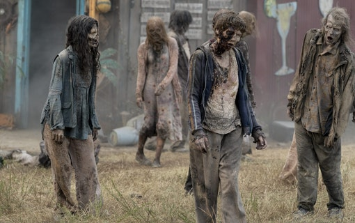 9 saker du inte visste om Walking Dead
