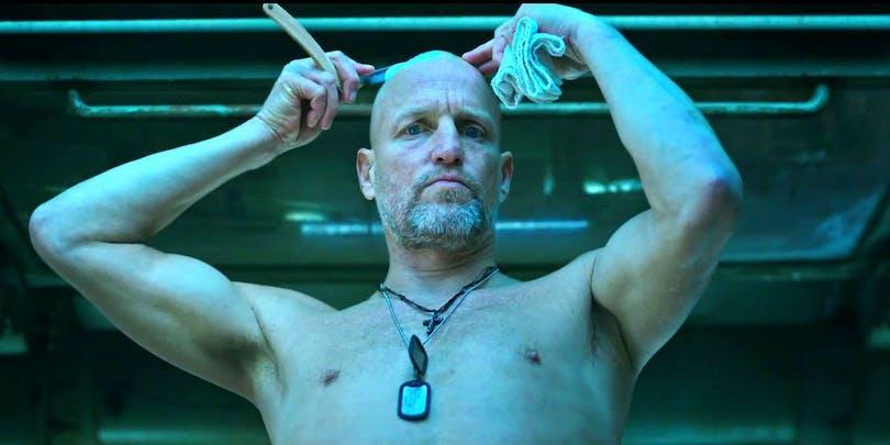 "Woody Harrelson i ""Apornas planet: Striden""."